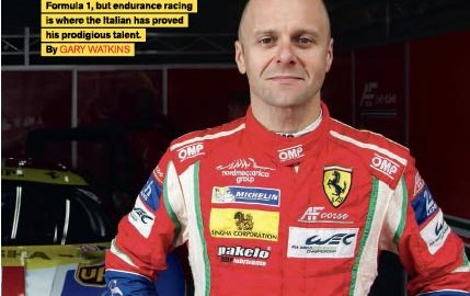 Gianmaria Bruni flirted with F1, but endurance racig is where the italian has proved his prodigious talent