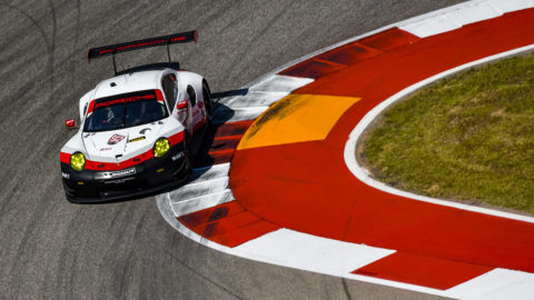 New 911 RSR tackles another reliability tests in the USA